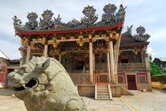 Khoo Kongsi中国寺庙,槟榔岛,马来西亚 库存图片