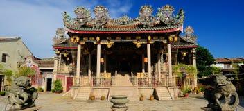 Khoo Kongsi寺庙 免版税库存照片