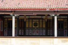 Khoo Kongsi,槟榔岛,马来西亚 免版税库存照片