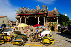 Khoo Kongsi Chinese-Tempel Lizenzfreies Stockfoto