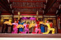 Khoo Kongsi Chinese-Tempel Stockbild