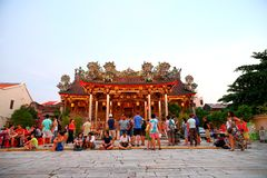 Khoo Kongsi Chinese-Tempel Lizenzfreies Stockbild