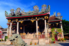 Khoo Kongsi Chinese Temple Stock Image
