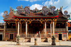 Khoo Kongsi Chinese Temple Stock Photos