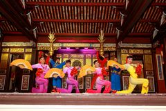 Free Khoo Kongsi Chinese Temple Stock Image - 54792521