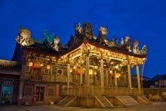 Khoo Kongsi klanhus, Georgetown Penang Fotografering för Bildbyråer