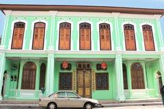 Khoo Kongsi Penang Imagens de Stock Royalty Free