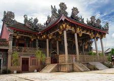 Khoo Kongsi, Penang, Malaysia royaltyfria bilder