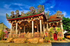 Khoo Kongsi Temple in HDR Royalty Free Stock Photography