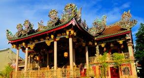 Khoo Kongsi temple Royalty Free Stock Photography