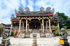 Khoo Kongsi which is located in George Town, Penang. Stock Photo