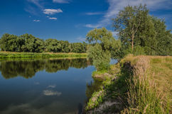 Khoper coast. Hopper. The cleanest river in Russia Stock Images