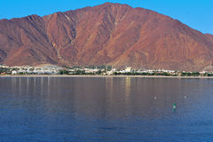 Khor Fakkan coastline Royalty Free Stock Images