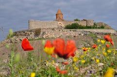 Khor Virap修道院在亚美尼亚 免版税库存图片