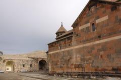 _ Khor Virap Astvatsatsin (άγια παρθένα) και μια άποψη της κοιλάδας Ararat Στοκ Φωτογραφίες
