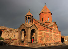 Khor Virap church, Armenia Stock Photography