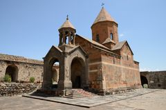 Khor Virap church, Armenia Royalty Free Stock Image