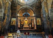 Khor Virap Główny Kościelny ołtarz zdjęcia royalty free