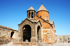 Khor Virap monastery in Armenia Stock Photos