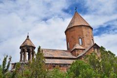 Khor Virap Monastery, Ararat Province, Armenia stock photography