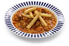 Khoresh gheimeh, iranian cuisine Stock Images