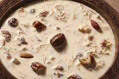 Khorma escarpado Sewiya - un plato dulce de la India fotos de archivo libres de regalías
