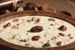 Khorma escarpado Sewiya - un plato dulce de la India imagen de archivo libre de regalías