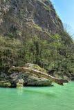 Khosta rzeka Zdjęcia Royalty Free