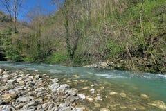 Khosta rzeka Zdjęcia Stock