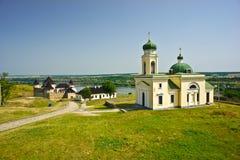 Khotinsk-Schloss, Ukraine Lizenzfreies Stockfoto