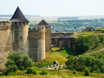 khotyn de forteresse images stock