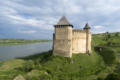 Khotyn Fortress Royalty Free Stock Images