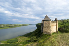Khotyn Fortress Stock Photography