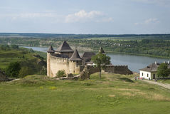 Khotyn Fortress Stock Image