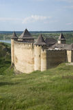 Khotyn Fortress Royalty Free Stock Photography