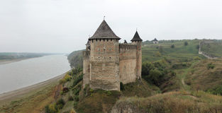 Khotyn Fortress Royalty Free Stock Photos