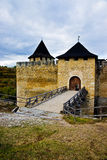 The Khotyn fortress, Ukraine. Stock Photos