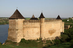 Khotyn Fortress Royalty Free Stock Image