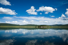 khovsgol湖蒙古 库存图片