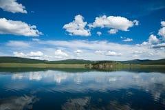 khovsgollake mongolia Arkivbilder
