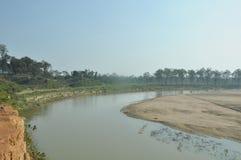 Khowai-Fluss lizenzfreies stockfoto