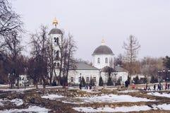 Khram Bozh Ikony «yey Materi Zhivonosnyy Istochnik obrazy royalty free