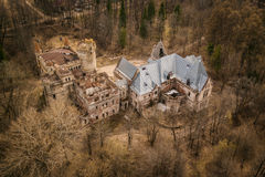 Khrapovitsky Estate and Castle in Muromtsevo, Vladimir Royalty Free Stock Image
