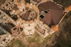 Khrapovitsky gods och slott i Muromtsevo, Vladimir arkivfoto