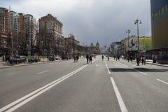 Khreshchatyk 免版税图库摄影