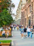 Khreshchatyk street. Kiev, Ukraine Royalty Free Stock Images