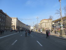 Khreshchatyk Stock Photography