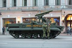 Khrizantema反坦克导弹 免版税图库摄影