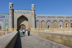 Khudayaren Khan Palace är de populäraste gränsmärkena av Fergan royaltyfri foto