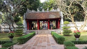 Khue Van pavilion, templo de la literatura, Hanoi, Vietnam imagen de archivo